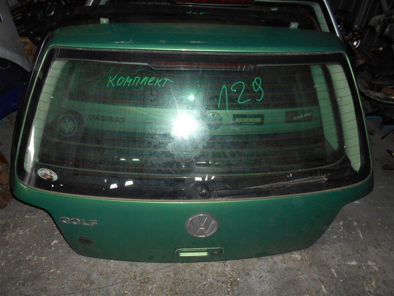 Дверь багажника Vw Golf 4 1J1 APE 2001 задняя