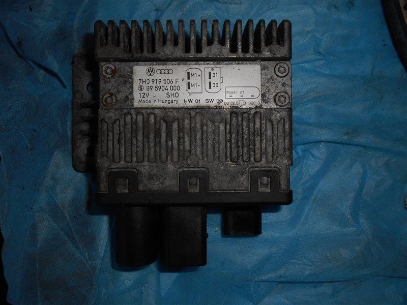 Блок управления вентилятором Vw Transporter T5 7HB BRS 2006