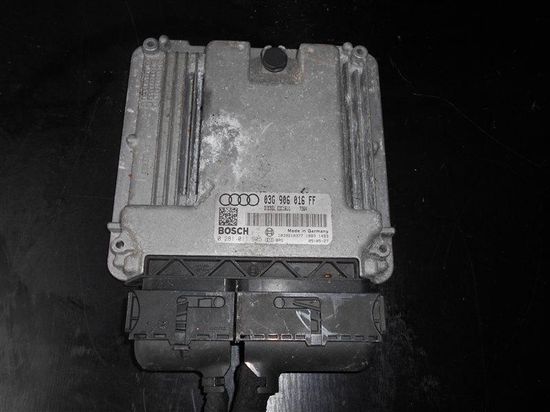 Блок управления двигателем эбу Audi A3 8PA BKD 2005