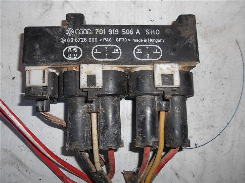 Блок управления вентилятором Vw Transporter T4 7DB ACV 1998