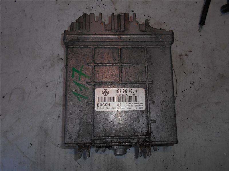 Блок управления двигателем эбу Vw Transporter T4 7DB ACV 1998