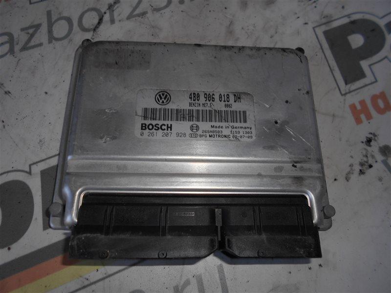 Блок управления двигателем эбу Vw Passat B5 3B6 AEB 2002