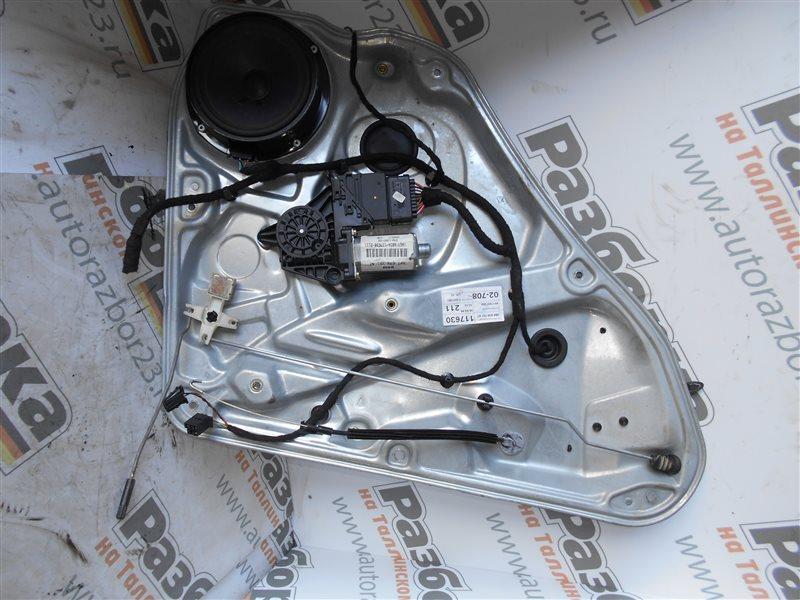 Стеклоподъемник Vw Passat B5 3B5 1Z 1999 задний левый