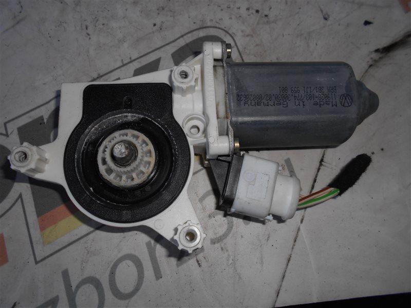 Мотор стеклоподъемника Vw Passat B5 3B5 ADR 1998 передний левый