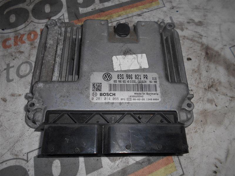 Блок управления двигателем эбу Vw Golf 5 1K1 BMM 2006