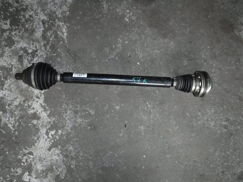 Полуось Vw Touran MK5 BKD 2009 передний правый