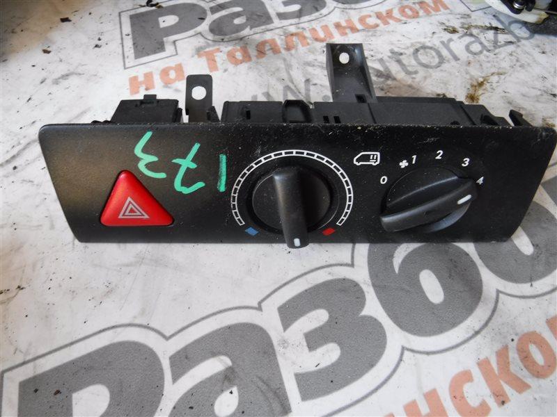 Блок управления печкой Vw Transporter T5 7HB AXB 2005