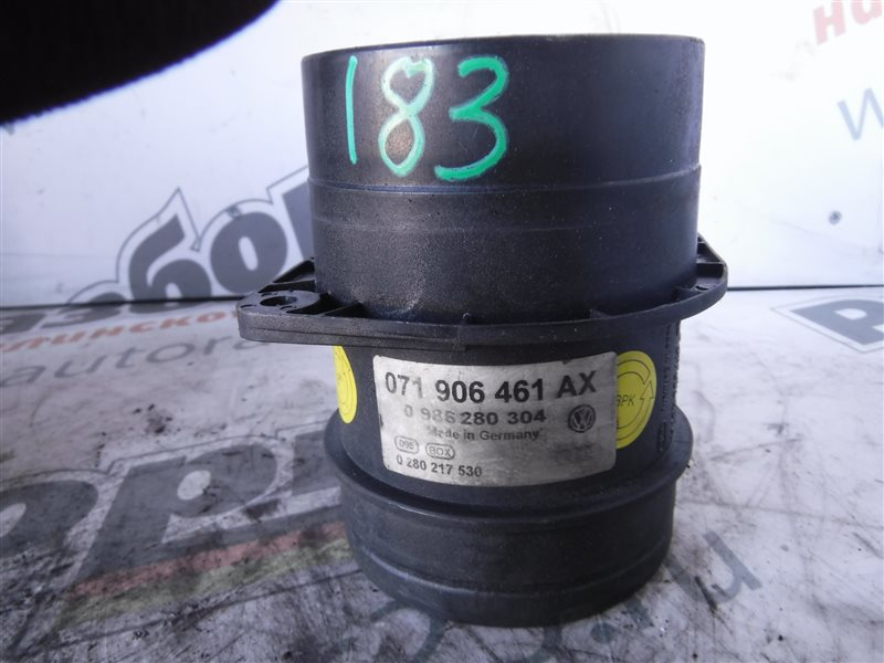 Расходомер воздуха ( дмрв ) Vw Golf 4 1J1 AGZ 1999