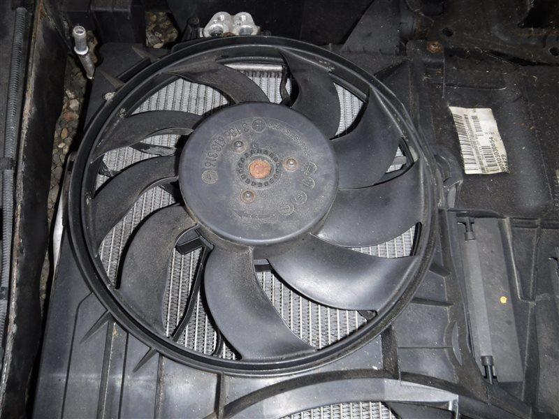 Вентилятор радиатора кондиционера Vw Transporter T5 7HB BRS 2005 передний левый