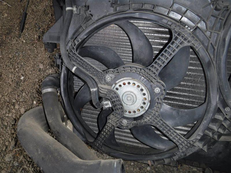 Вентилятор радиатора Fiat Ducato 250 4HV 2008 передний левый