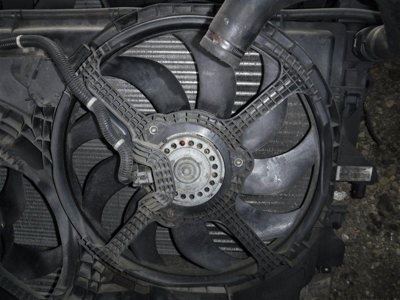 Вентилятор радиатора Fiat Ducato 250 4HV 2008 передний правый