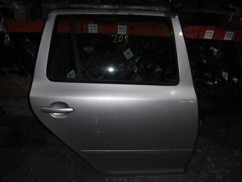 Дверь Skoda Octavia A5 BLS 2008 задняя правая
