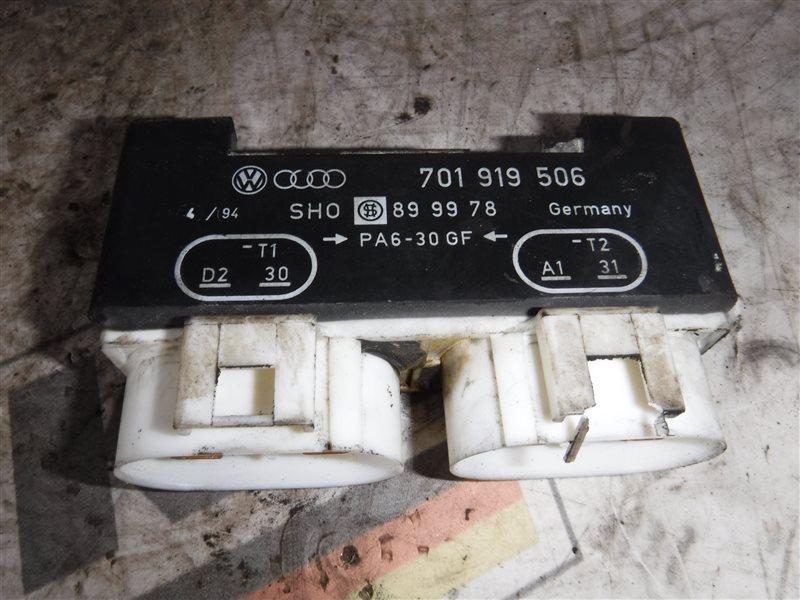 Блок управления вентилятором Vw Transporter T4 7DB AAB 2005