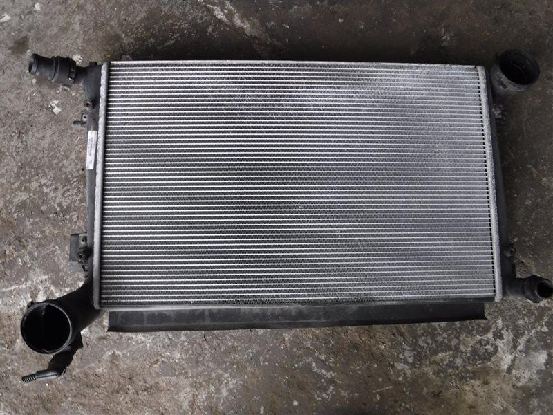 Радиатор двс Skoda Octavia A5 BLS 2008