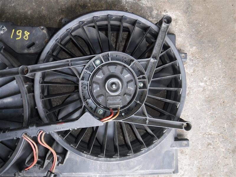 Вентилятор радиатора Vw Transporter T4 7DB AJT 2000 передний правый