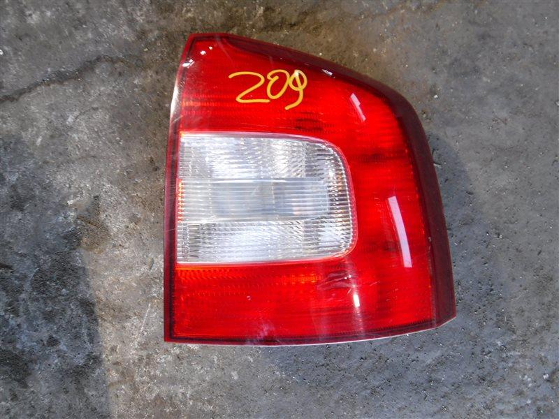 Фонарь задний Skoda Octavia A5 BLS 2008 задний правый