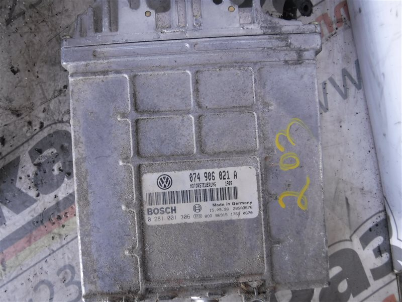 Блок управления двигателем эбу Vw Transporter T4 70XD ACV 1998