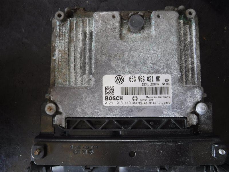 Блок управления двигателем эбу Vw Passat B6 3C5 BMP 2006