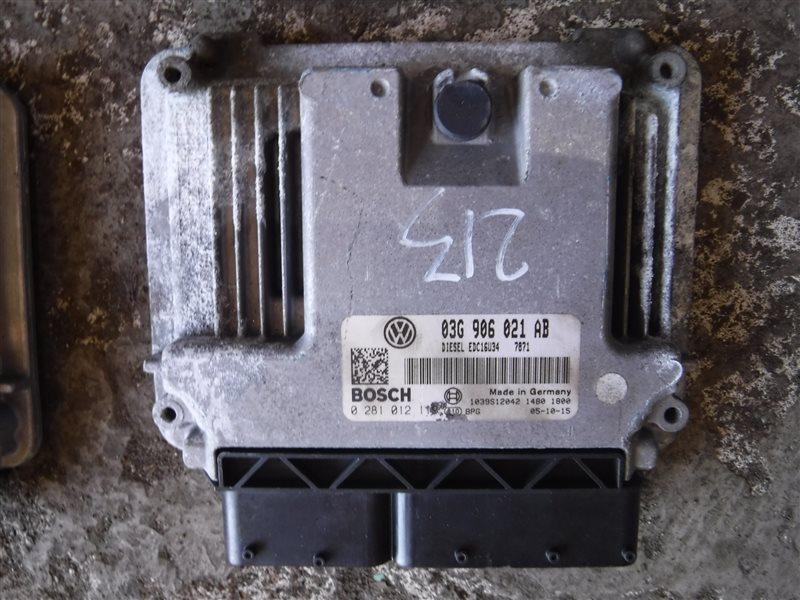 Блок управления двигателем эбу Vw Passat B6 3C5 BMP 2005