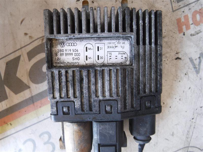 Блок управления вентилятором Vw Transporter T5 7HB AXC 2004