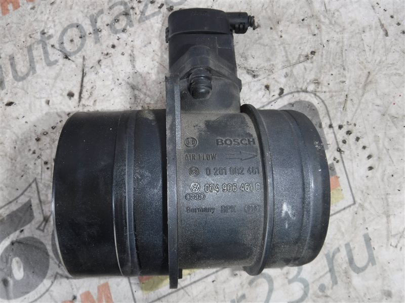 Расходомер воздуха ( дмрв ) Vw Transporter T5 7HB AXE 2006