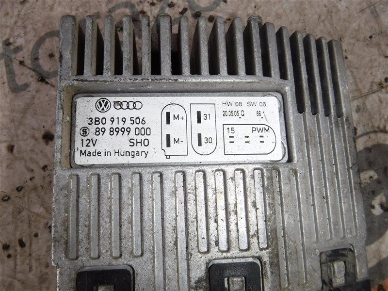 Блок управления вентилятором Vw Transporter T5 7HB AXB 2005