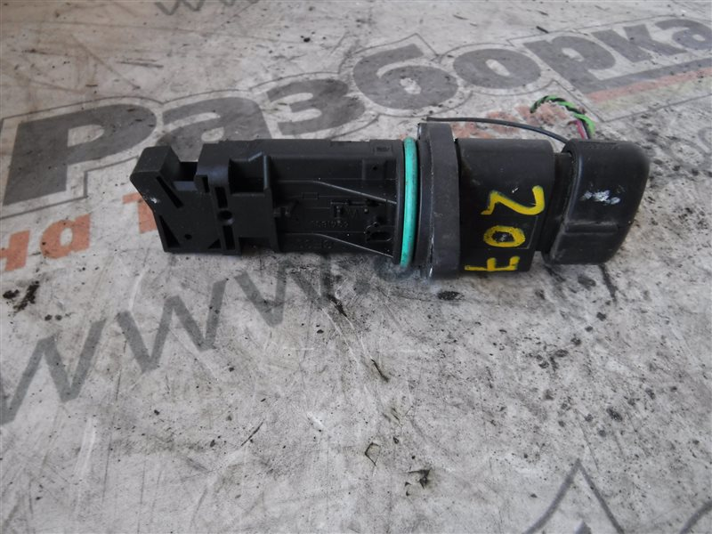 Расходомер воздуха ( дмрв ) Vw Transporter T5 7HB BRS 2007