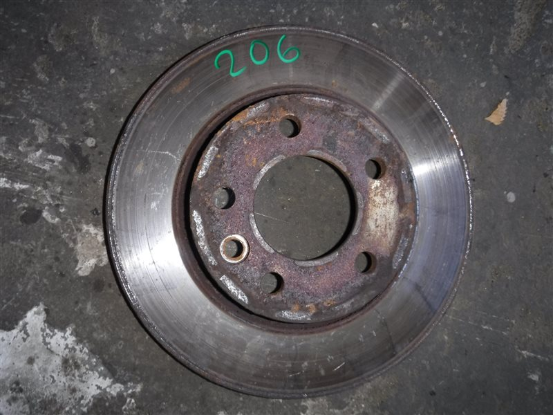Диск тормозной Vw Transporter T5 7HB AXC 2004 задний