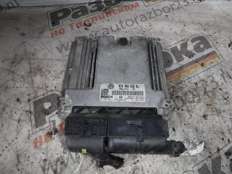 Блок управления двигателем эбу Vw Touareg 7LA BAC 2003