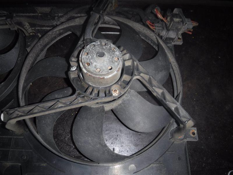 Вентилятор радиатора Vw Golf 4 1J1 AKL 1998 передний левый