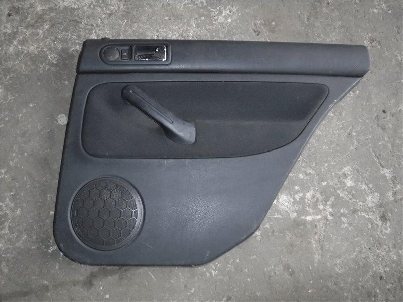 Обшивка двери (карта) Vw Golf 4 1J1 AGN 1999 задняя правая