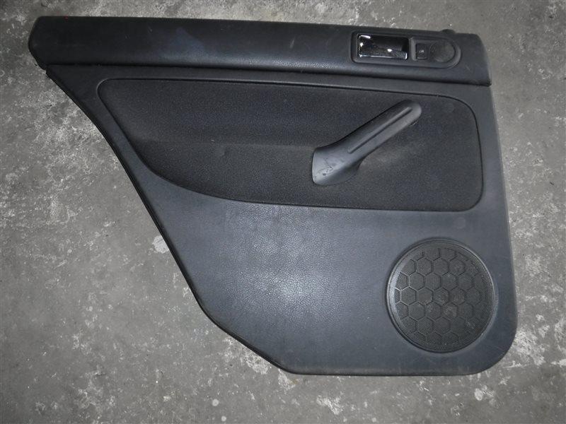 Обшивка двери (карта) Vw Golf 4 1J1 AGN 1999 задняя левая