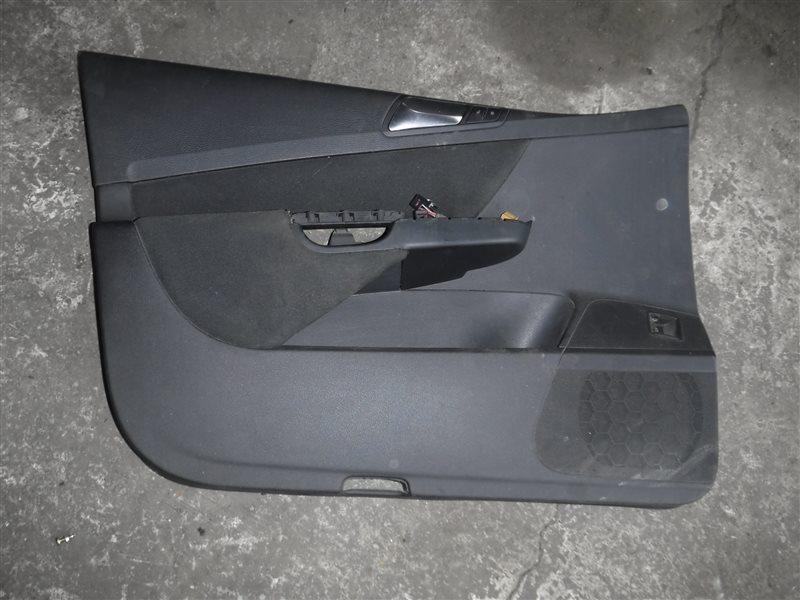 Обшивка двери (карта) Vw Passat B6 3C5 BMP 2005 передняя левая