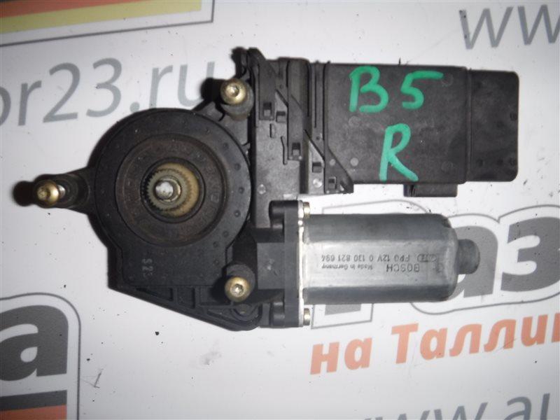 Мотор стеклоподъемника Vw Passat B5 3B5 ADR 1998 передний правый