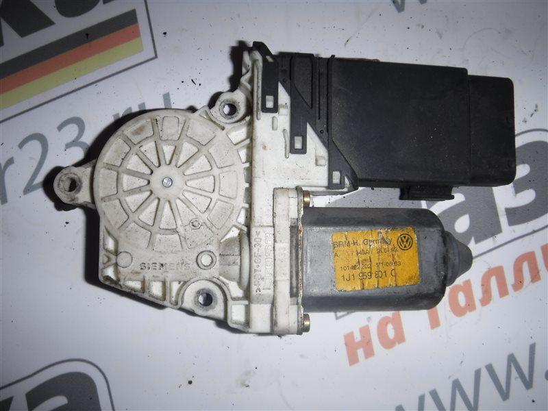 Мотор стеклоподъемника Vw Golf 4 1J1 AKQ 1999 передний левый