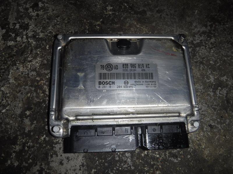 Блок управления двигателем эбу Vw Passat B5 3B5 AVB 2001