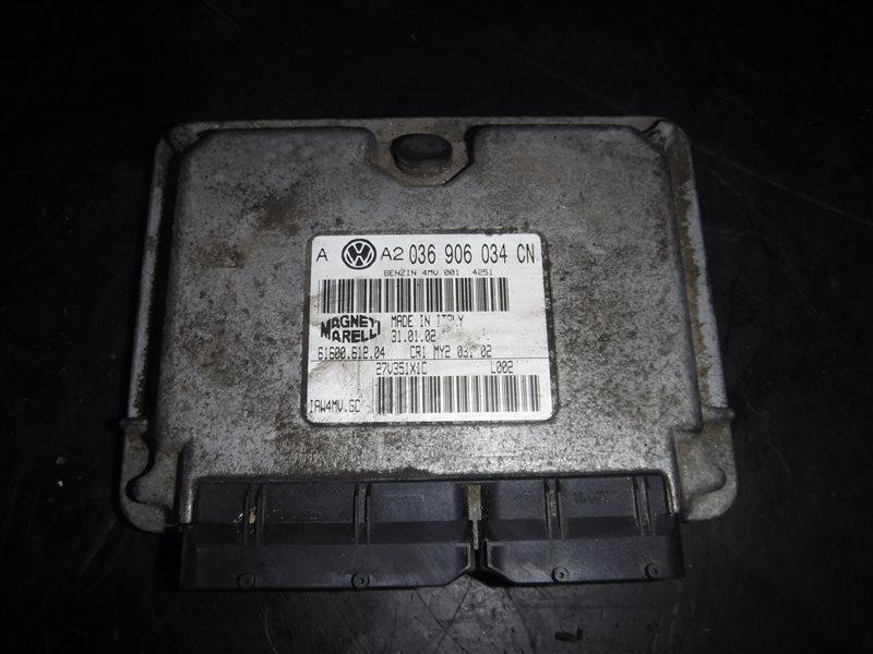 Блок управления двигателем эбу Vw Golf 4 1J1 AZD 2001