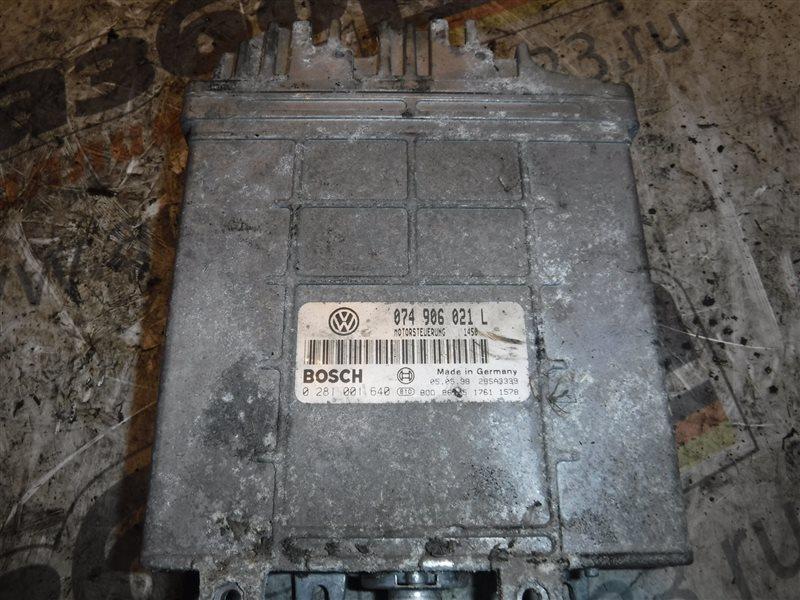 Блок управления двигателем эбу Vw Transporter T4 7DB ACV 2000