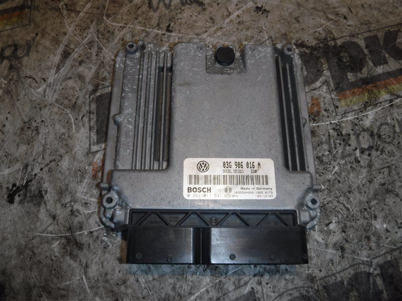 Блок управления двигателем эбу Vw Caddy 2KB BDJ 2005