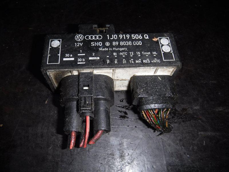 Блок управления вентилятором Vw Golf 4 1J1 AGR 2000