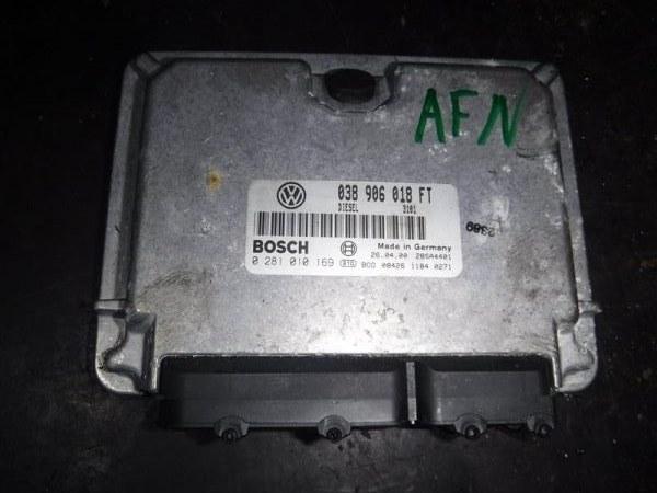 Блок управления двигателем эбу Vw Passat B5 3B5 AHF 2000