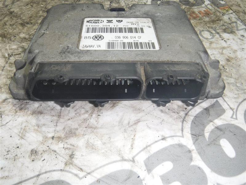 Блок управления двигателем эбу Vw Golf 4 1J1 AKQ 1998
