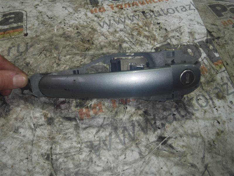 Ручка двери внешняя Vw Passat B5 3B6 AFB 2002 передняя левая