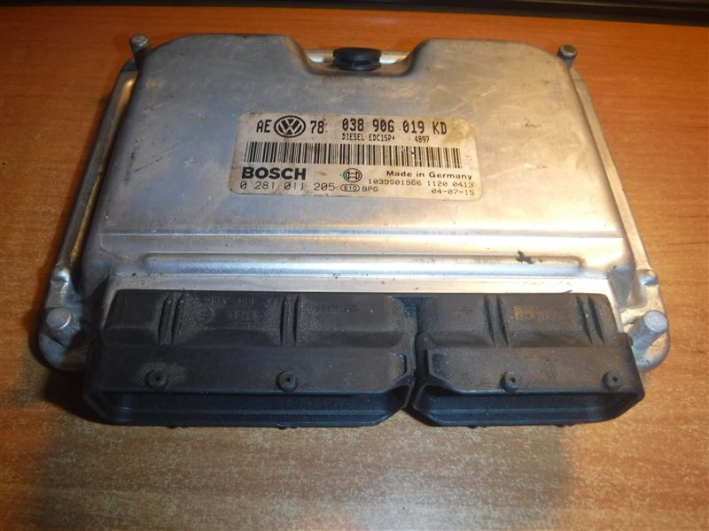 Блок управления двигателем эбу Vw Passat B5 3B6 AVF 2001