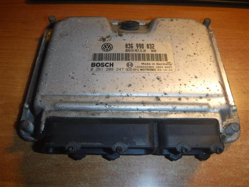 Блок управления двигателем эбу Vw Golf 4 1J1 APE 2000