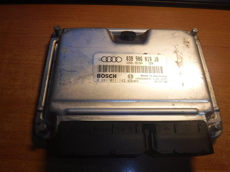 Блок управления двигателем эбу Audi A4 B6 AWX 2002