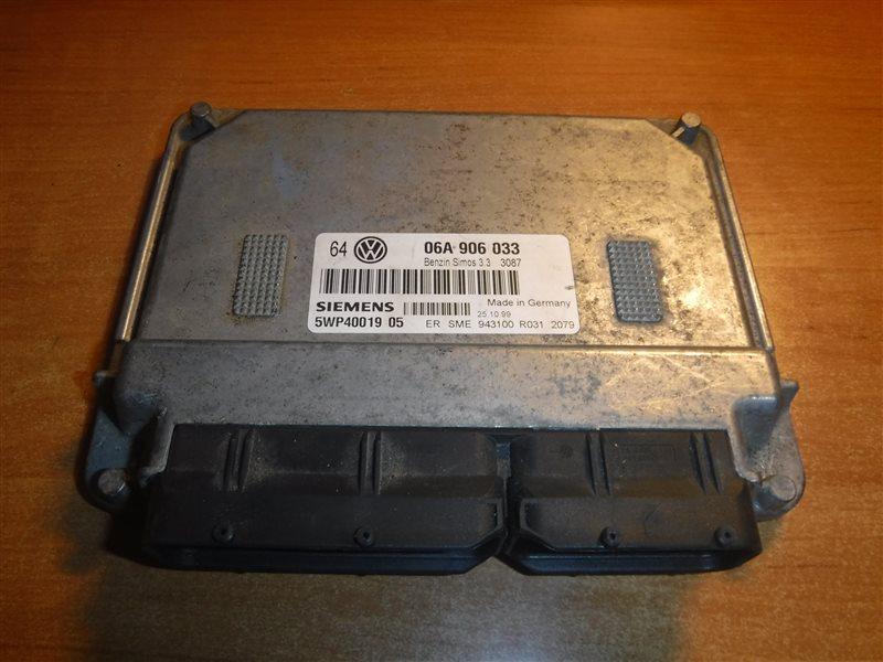 Блок управления двигателем эбу Vw Golf 4 1J1 APF 1999