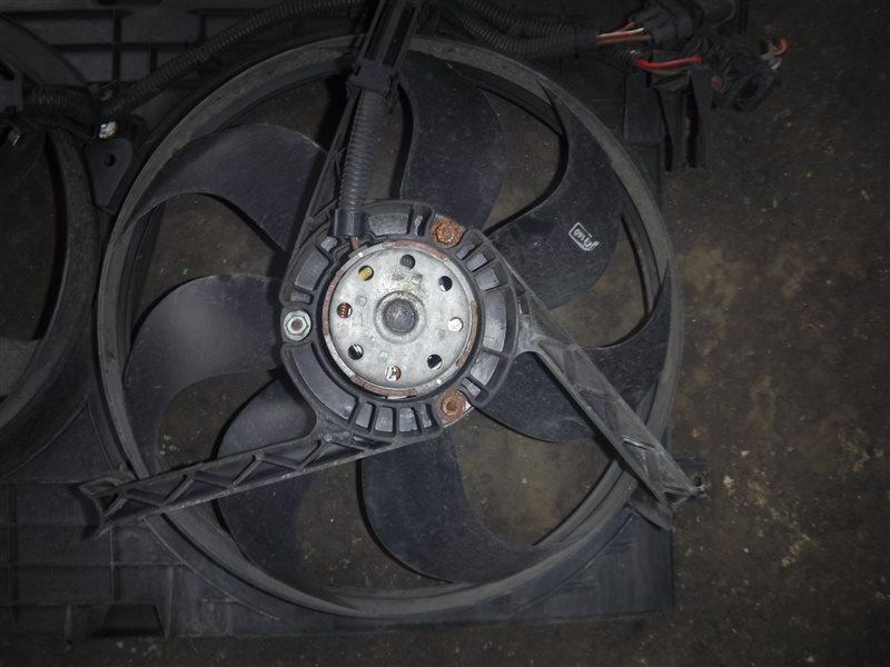 Вентилятор радиатора Vw Golf 4 1J1 AGM 2003 передний левый