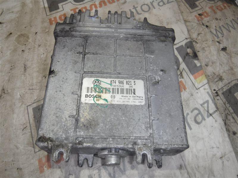 Блок управления двигателем эбу Vw Transporter T4 7DB AJT 2000