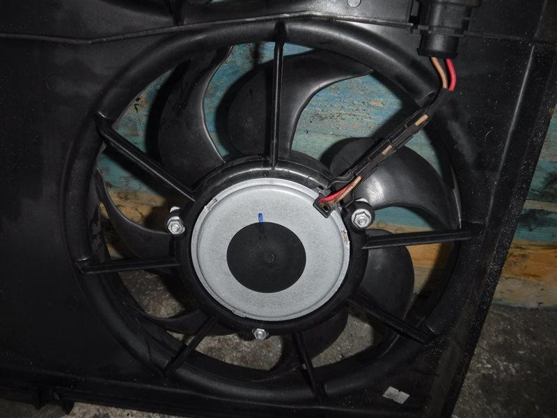 Вентилятор радиатора кондиционера Seat Leon 1P1 CBZ 2013
